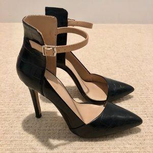 Zara Black Stiletto Heels